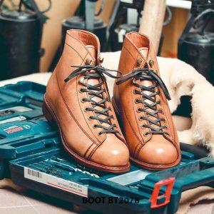 Giày da nam Boot thời trang cá tính BT2078 003
