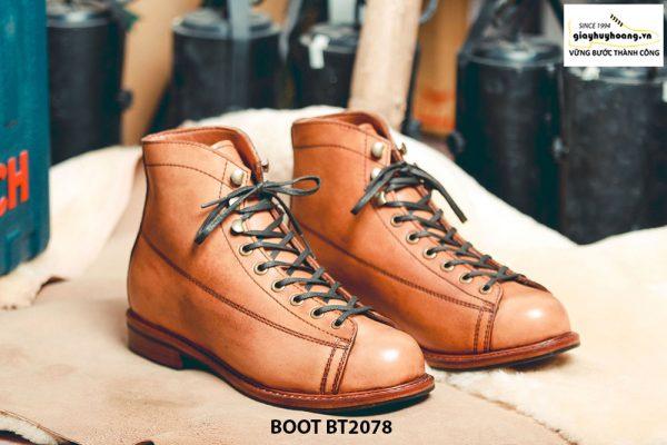 Giày da nam Boot thời trang cá tính BT2078 001