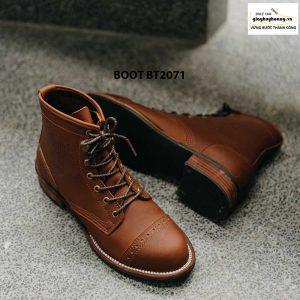 Giày da nam buộc dây cổ cao phong cách BT2071 0056