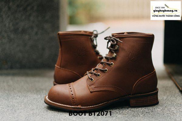 Giày da nam buộc dây cổ cao phong cách BT2071 003