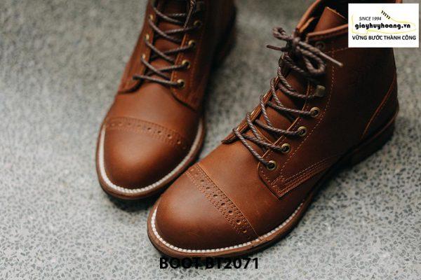 Giày da nam buộc dây cổ cao phong cách BT2071 002