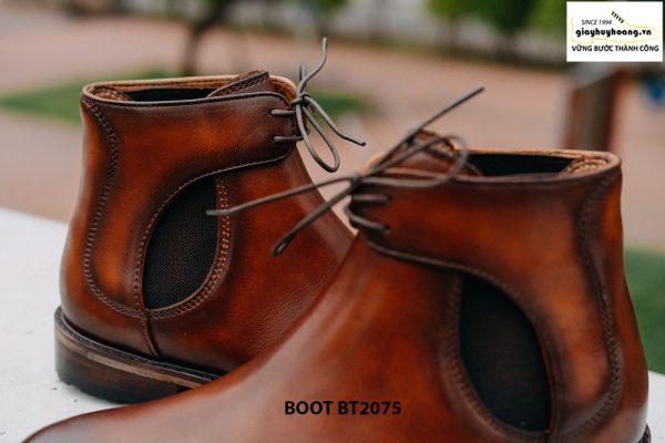 Giày da nam Boot buộc dây thời trang BT2075 004