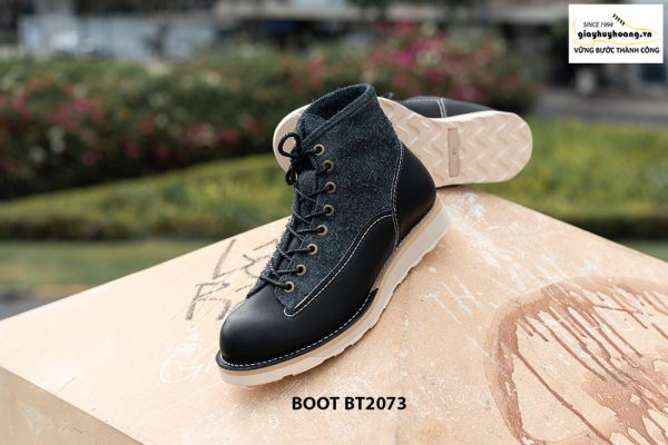 Giày da nam boot cổ cao phong cách BT2073 004