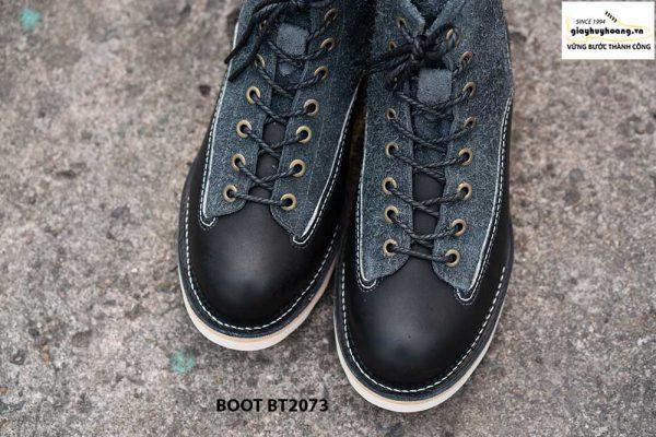 Giày da nam boot cổ cao phong cách BT2073 001