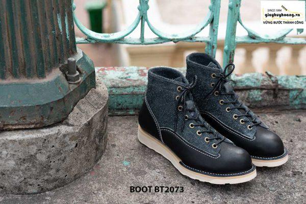 Giày da nam boot cổ cao phong cách BT2073 003