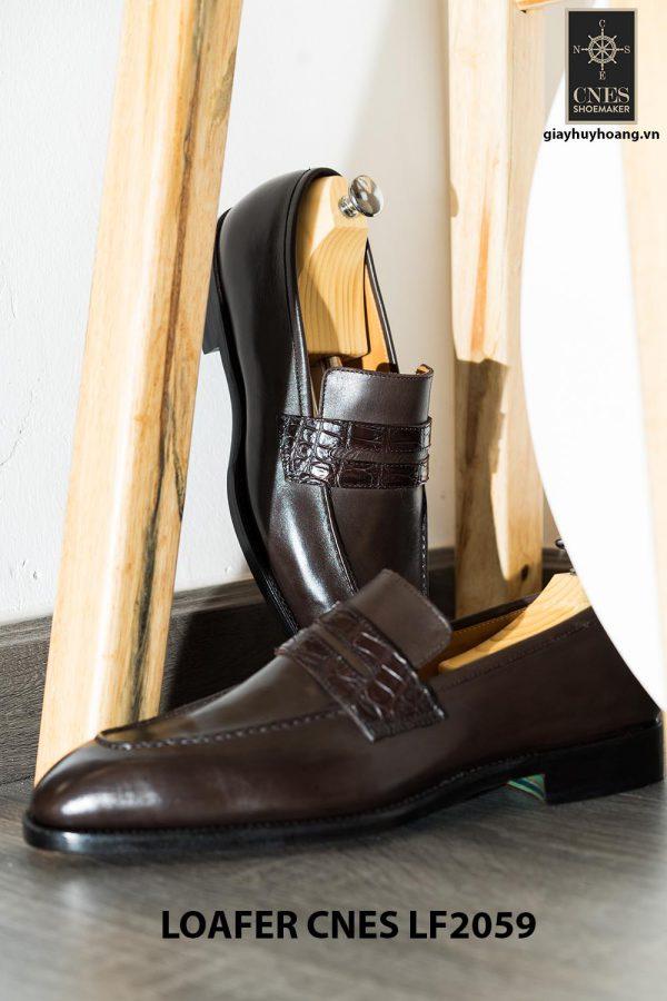 Giày lười nam da thời trang Penny Loafer LF2059 003
