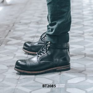 Giày da Boot nam cực đẹp đen trẻ trung BT2085 004