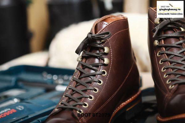 Giày da nam Boot buộc dây chính hãng BT2079 004