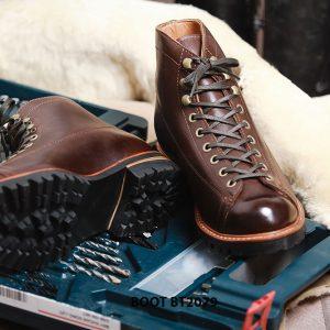 Giày da nam Boot buộc dây chính hãng BT2079 003