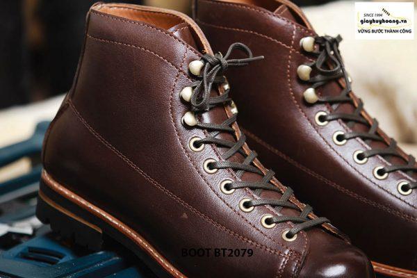 Giày da nam Boot buộc dây chính hãng BT2079 002
