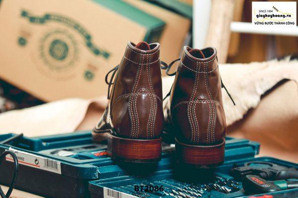 Giày da Boot nam cột dây thời trang BT2086 005