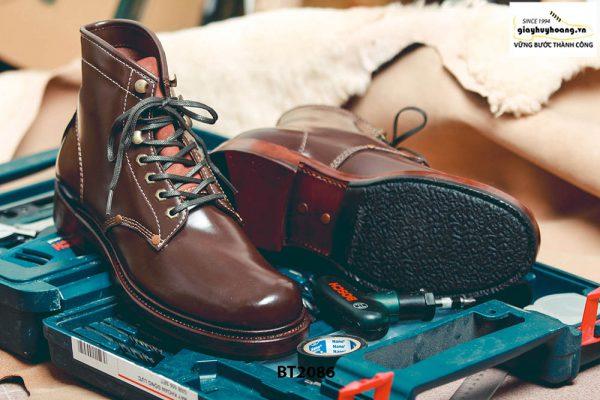 Giày da Boot nam cột dây thời trang BT2086 003
