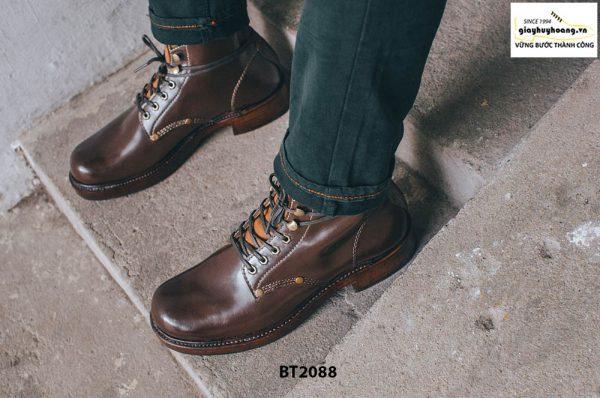 Giày Boot nam cột dây thời trang 2021 BT2088 006