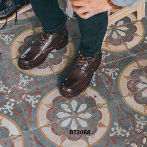 Giày Boot nam cột dây thời trang 2021 BT2088 004
