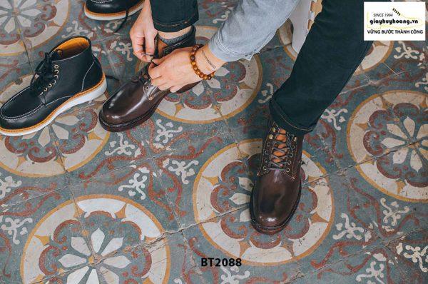Giày Boot nam cột dây thời trang 2021 BT2088 003