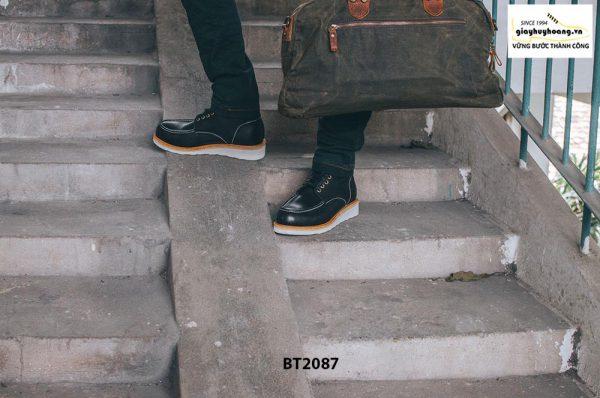 Giày da Boot nam cột dây phong cách BT2087 003