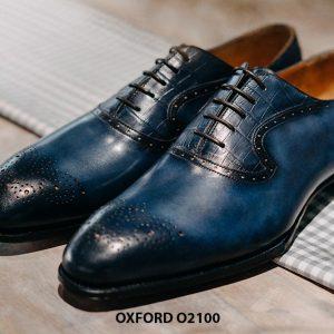 Giày tây nam sành điệu phong cách Oxford O2100 003
