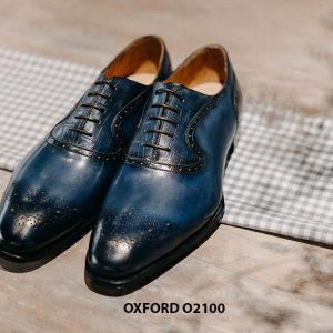 Giày tây nam sành điệu phong cách Oxford O2100 002