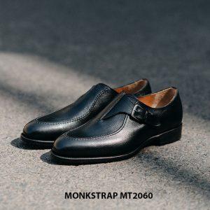 Giày da nam 1 khoá thời trang Single Monkstrap MT2060 001