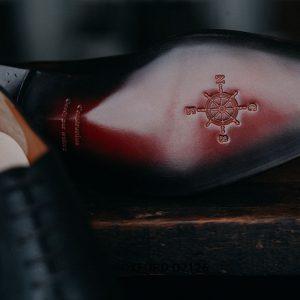 Giày tây nam phối da hột thời trang Oxford O2126 004