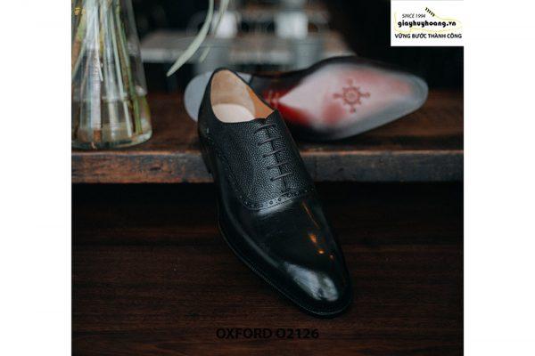 Giày tây nam phối da hột thời trang Oxford O2126 003