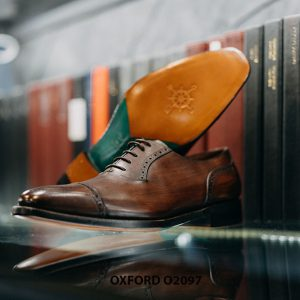 Giày tây nam thời trang và phong cách Oxford O2097 003
