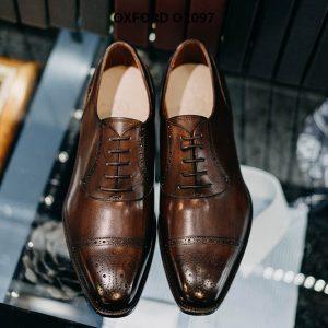 Giày tây nam thời trang và phong cách Oxford O2097 001