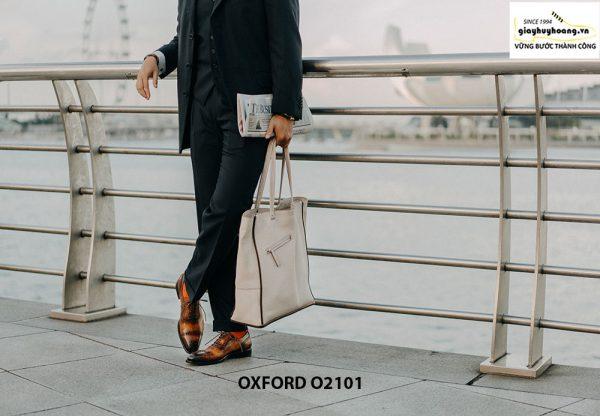 Giày da nam vô cùng thời trang tuyệt đẹp Oxford O2101 004