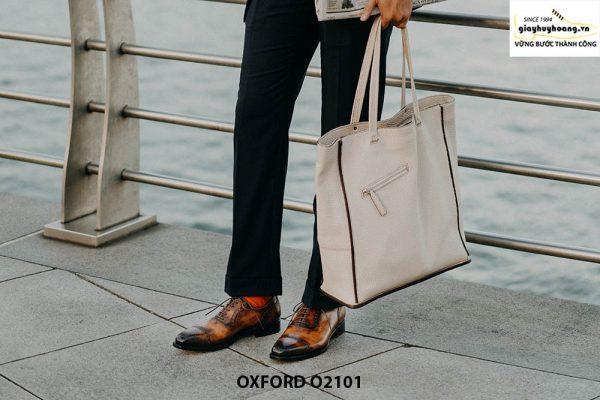 Giày da nam vô cùng thời trang tuyệt đẹp Oxford O2101 003
