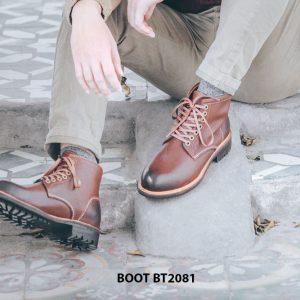 Giày tây lacenam Boot cột dây BT2081 005