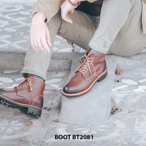 Giày tây lacenam Boot cột dây BT2081 004