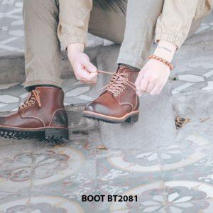 Giày tây lacenam Boot cột dây BT2081 003