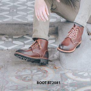 Giày tây lacenam Boot cột dây BT2081 001
