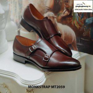 Giày da nam dáng đẹp Double Monkstrap MT2059 005