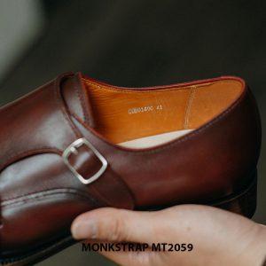 Giày da nam dáng đẹp Double Monkstrap MT2059 004
