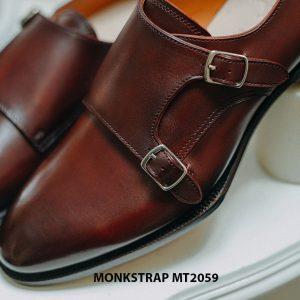 Giày da nam dáng đẹp Double Monkstrap MT2059 003