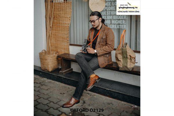 Giày tây nam chính hãng cao cấp Oxford O2129 005