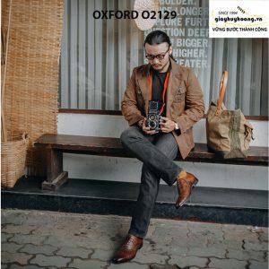Giày tây nam chính hãng cao cấp Oxford O2129 001