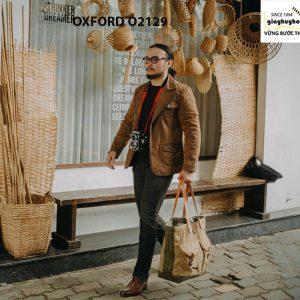 Giày tây nam chính hãng cao cấp Oxford O2129 004