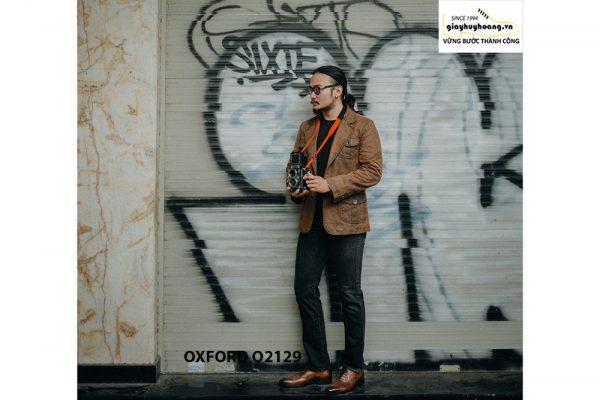 Giày tây nam chính hãng cao cấp Oxford O2129 003