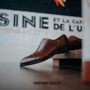 Giày tây nam chính hãng cao cấp Oxford O2127 003