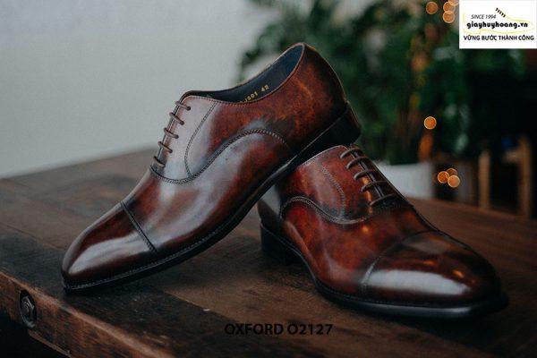 Giày tây nam chính hãng cao cấp Oxford O2127 001