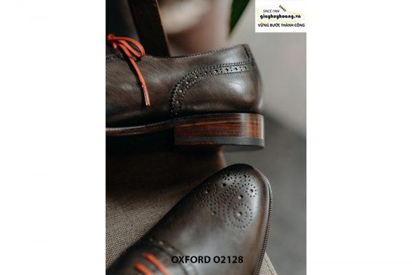 Giày tây nam màu da đẹp Oxford O2128 004