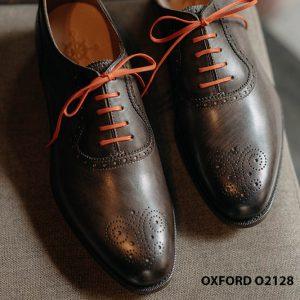 Giày tây nam màu da đẹp Oxford O2128 003