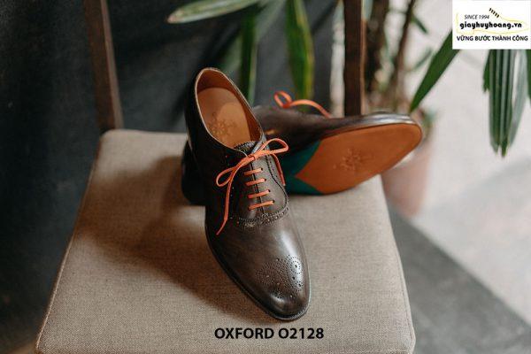Giày tây nam màu da đẹp Oxford O2128 002