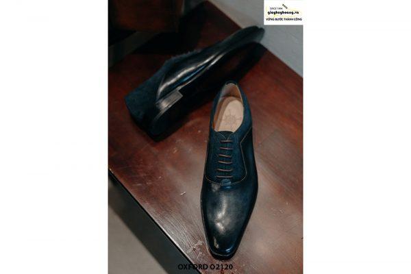 Giày da nam thủ công cao cấp công sở Oxford O2120 004