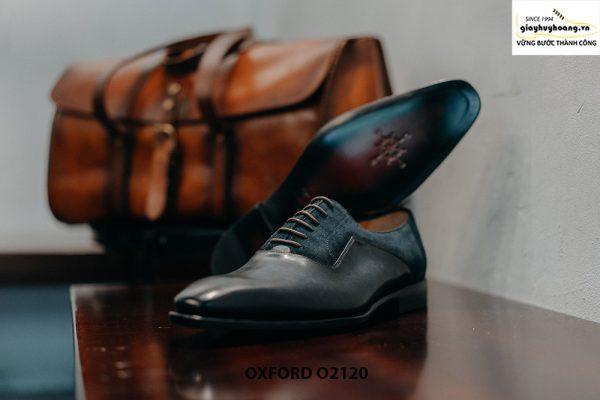 Giày da nam thủ công cao cấp công sở Oxford O2120 003