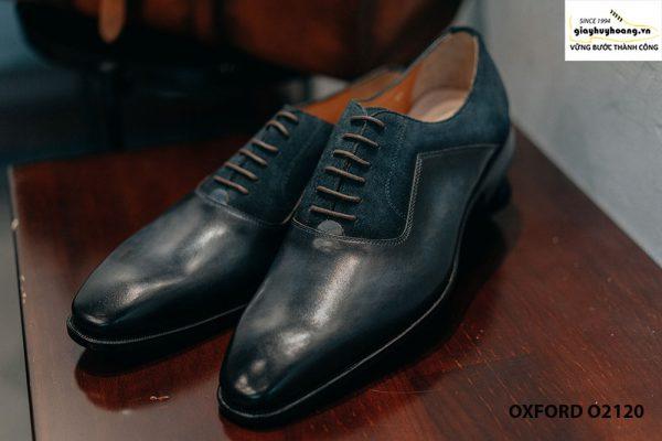 Giày da nam thủ công cao cấp công sở Oxford O2120 001