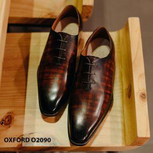 Giày buộc dây nam đẹp chỉ từ 1 miếng da Oxford Wholecut O2090 007