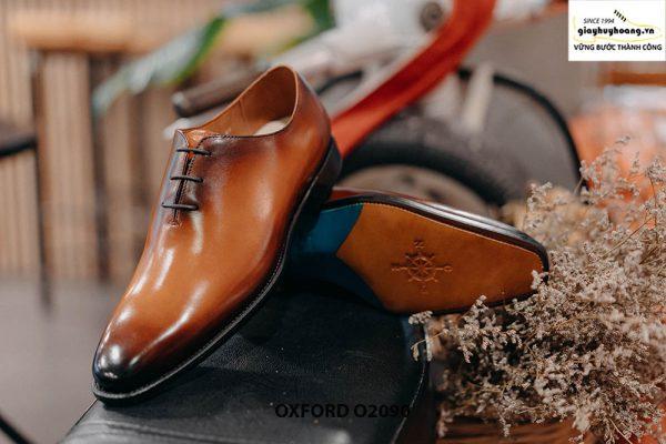Giày buộc dây nam đẹp chỉ từ 1 miếng da Oxford Wholecut O2090 003